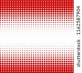 halftone of halftone dots on... | Shutterstock .eps vector #1162587904