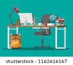 home kids table kid for... | Shutterstock .eps vector #1162616167