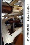 disassembled ceiling of camper... | Shutterstock . vector #1162621834