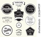 collection of premium quality... | Shutterstock .eps vector #116264959