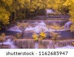 waterfall infrared thailand | Shutterstock . vector #1162685947