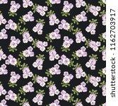 seamless vector ornamental... | Shutterstock .eps vector #1162703917