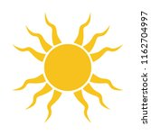 styled sun vector icon  weather ...