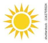 weather forecast icon  sun... | Shutterstock .eps vector #1162705024