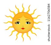 weather forecast icon  sun... | Shutterstock .eps vector #1162706584