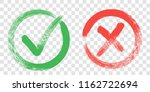tick and cross sign elements.... | Shutterstock .eps vector #1162722694