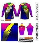 long sleeve motocross jerseys t ... | Shutterstock .eps vector #1162727011