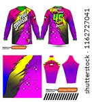 long sleeve motocross jerseys t ...   Shutterstock .eps vector #1162727041