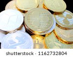 ripple   a new cryptocurrency... | Shutterstock . vector #1162732804