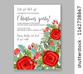 floral vector background for... | Shutterstock .eps vector #1162738867