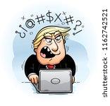 a cartoon illustration of... | Shutterstock .eps vector #1162742521