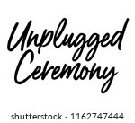typography calligraphy wedding... | Shutterstock .eps vector #1162747444