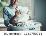 young beautiful smiling woman...   Shutterstock . vector #1162750711