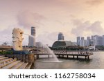 singapore city   july 29  2018  ... | Shutterstock . vector #1162758034