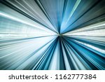 motion blur of train moving... | Shutterstock . vector #1162777384