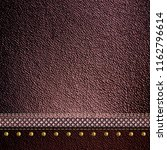 leather texture background  3d... | Shutterstock . vector #1162796614