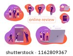 vector set of concept design... | Shutterstock .eps vector #1162809367