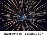 fireworks at the hague... | Shutterstock . vector #1162813627