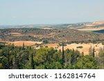 panorama of place near beit... | Shutterstock . vector #1162814764