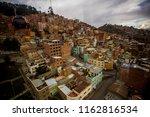 la paz  bolivia   october 9 ... | Shutterstock . vector #1162816534