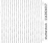black thin vertical hand drawn... | Shutterstock .eps vector #1162826017