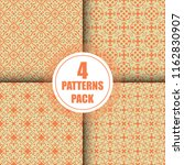 beautiful  vintage pattern... | Shutterstock .eps vector #1162830907