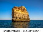 algarve seashore and caves.... | Shutterstock . vector #1162841854
