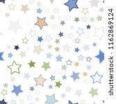 seamless vector repetitive... | Shutterstock .eps vector #1162869124