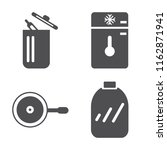 set of 4 vector icons such as...   Shutterstock .eps vector #1162871941