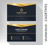 business model name card luxury ... | Shutterstock .eps vector #1162875451