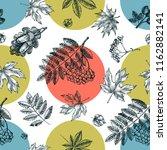decorative seamless pattern... | Shutterstock .eps vector #1162882141