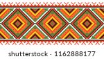 colored embroidery like cross... | Shutterstock .eps vector #1162888177