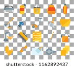 set of 20 transparent icons... | Shutterstock .eps vector #1162892437