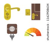 set of 4 vector icons such as... | Shutterstock .eps vector #1162908634