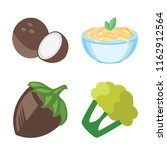 set of 4 vector icons such as... | Shutterstock .eps vector #1162912564