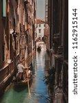 venice  italy. romantic city.... | Shutterstock . vector #1162915144