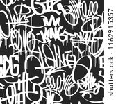 graffiti street art hip hop... | Shutterstock .eps vector #1162915357