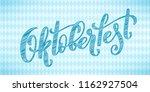 oktoberfest celebration... | Shutterstock .eps vector #1162927504