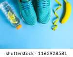 concept of a sport life. losing ... | Shutterstock . vector #1162928581