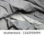 twisted folded fabric   a cover ... | Shutterstock . vector #1162934494