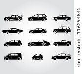 car set  transportation | Shutterstock .eps vector #116294845