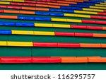 stadium chair | Shutterstock . vector #116295757