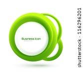 eco abstract vector swirl... | Shutterstock .eps vector #116296201