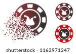 joker casino chip icon in... | Shutterstock .eps vector #1162971247