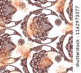 seamless pattern boho chic... | Shutterstock .eps vector #1162973377