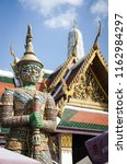 thailand temple monuments | Shutterstock . vector #1162984297