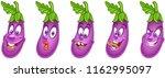 eggplant. vegetable food... | Shutterstock .eps vector #1162995097