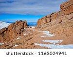 pikes peak pass   Shutterstock . vector #1163024941