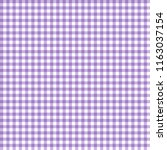 smooth gingham seamless pattern ... | Shutterstock .eps vector #1163037154