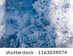 the texture of the ice. the... | Shutterstock . vector #1163039074